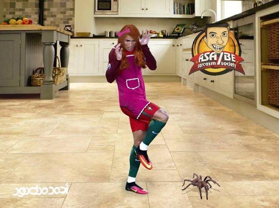 Trời ơi, đứa nào thả nhện vô bếp nhà chế, đứa nào, bắt nó đi ngay!