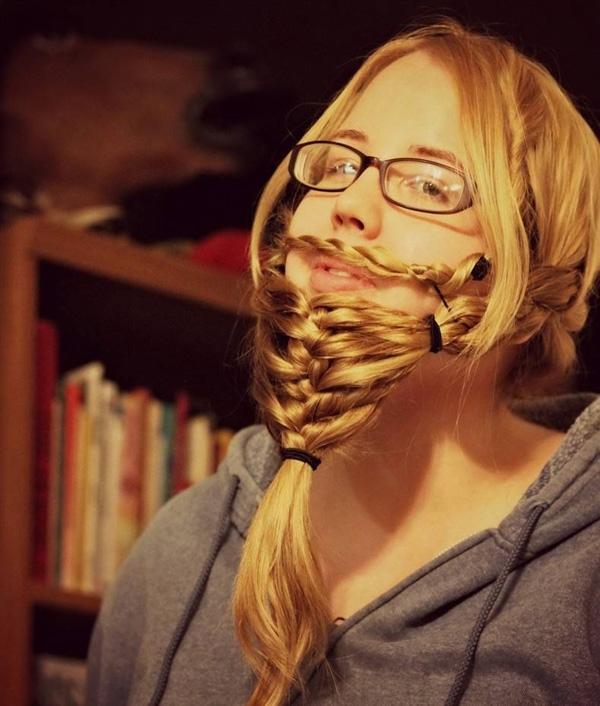 Em mơ một lần có...râu.(Ảnh: Internet)