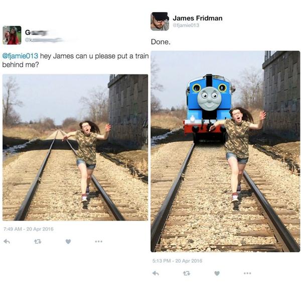 James à, xe lửa Thomas không làm chuyện kinh dị vậy đâu!