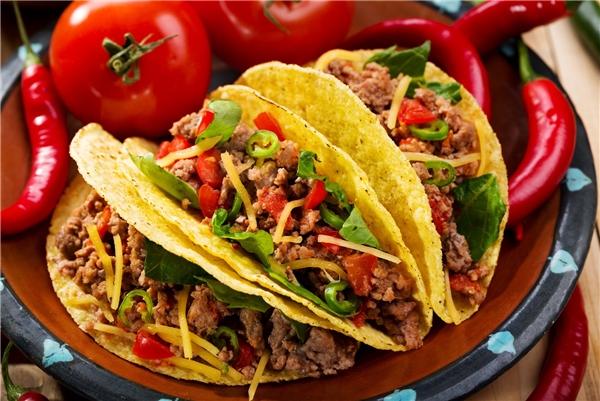"""Ẩm thực thế giới - Bánh Tacos - Ẩm thực đường phố làm """"mê mẩn"""" thực khách"""