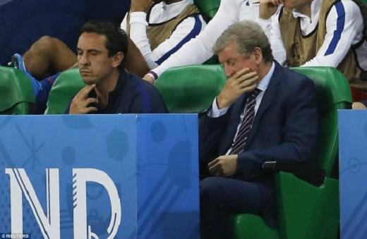 Roy Hodgson phải trả giá vì quyết định mạo hiểm của mình