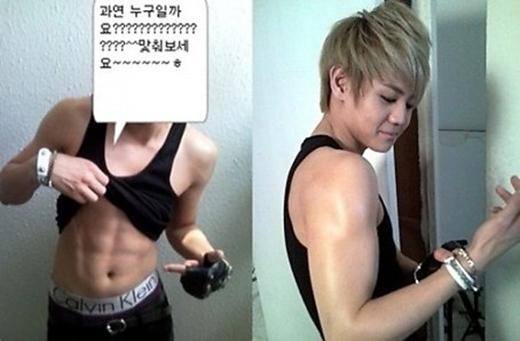 Nhờ đam mê boxing, Yo Seob sớm có được thân hình mà các chàng trai mong muốn. (Ảnh: Internet)