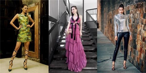 Ba cá tính thời trang nổi bật tại The Face Vietnam 2016.
