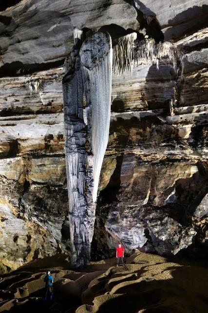 Hang Tiên 1.(Ảnh: đoàn thám hiểm hang động Hoàng gia Anh cung cấp - Nhân dân online)