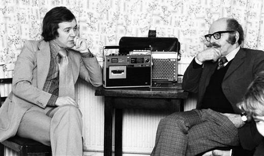 Đoạn băng ghi âm nổi tiếng của vụ Enfield. (Ảnh: Internet)