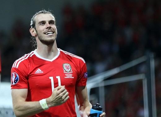 Gareth Bale đang có phong độ cực cao ở EURO 2016