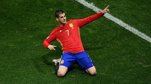 Alvaro Morata đã được kích hoạt điều khoản mua lại từ Real Madrid