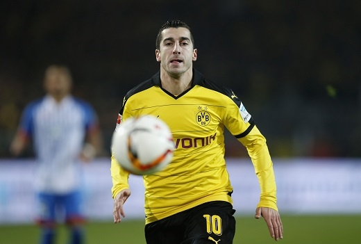 Dortmund quyết tâm giữHenrikh Mkhitaryanbằng mọi giá