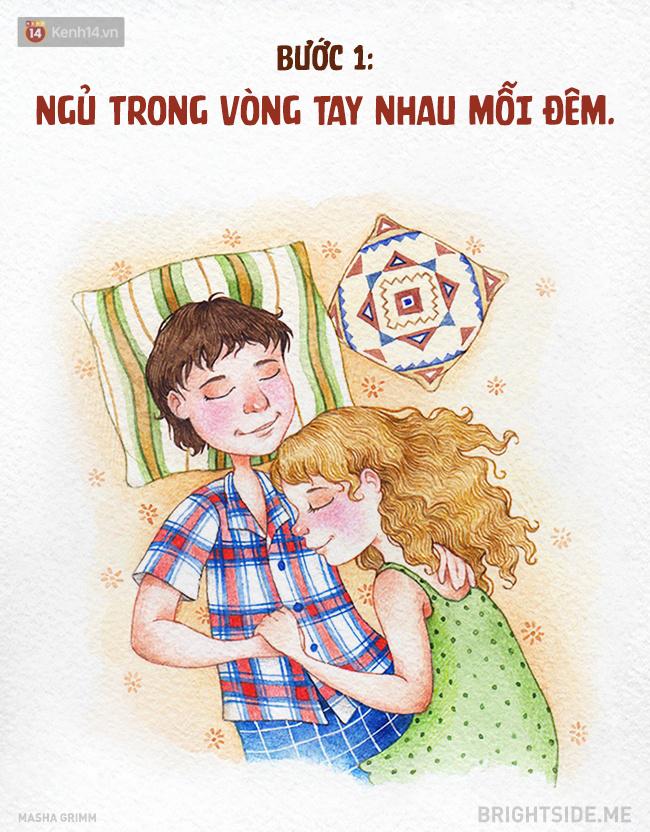 Tại sao khi yêu nhau người ta thường thích ôm? Bởi khi ấy là lúc hai trái tim được kề sát bên nhau nhất.