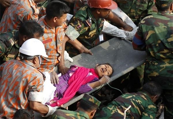 Reshma Begum - người thợ may sống sót 17 ngày trong đống đổ nát. (Ảnh: Bright Side)