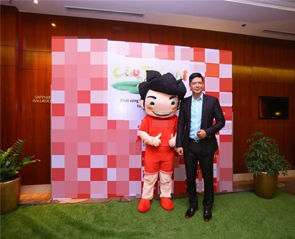 MC Bình Minh xuất hiện trong buổi giới thiệu chương trình từ khá sớm.