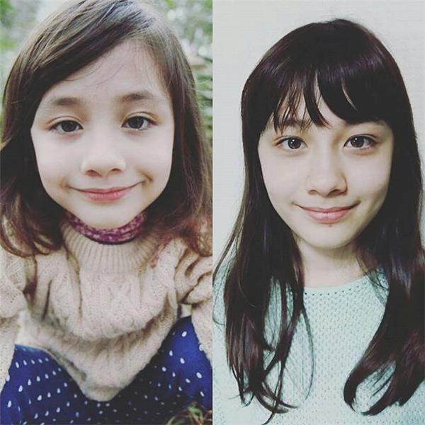 Hai chị em nay đã trưởng thành hơn rất nhiều.