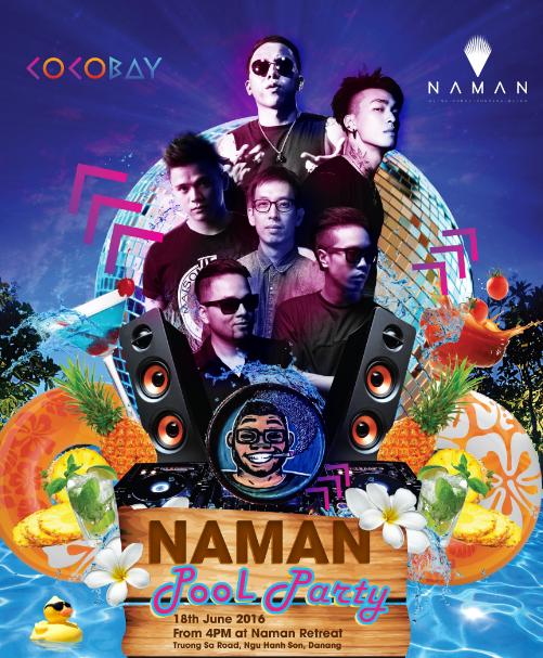 16 DJ hàng đầu Việt Nam hội tụ tại Naman Pool Party 2016