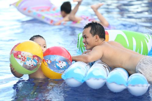 Sự kiệnkhông chỉ là nơi dành cho giới trẻ mà đây còn làbữa tiệc giải trí vui nhộn và thân thiện cho cả gia đình.