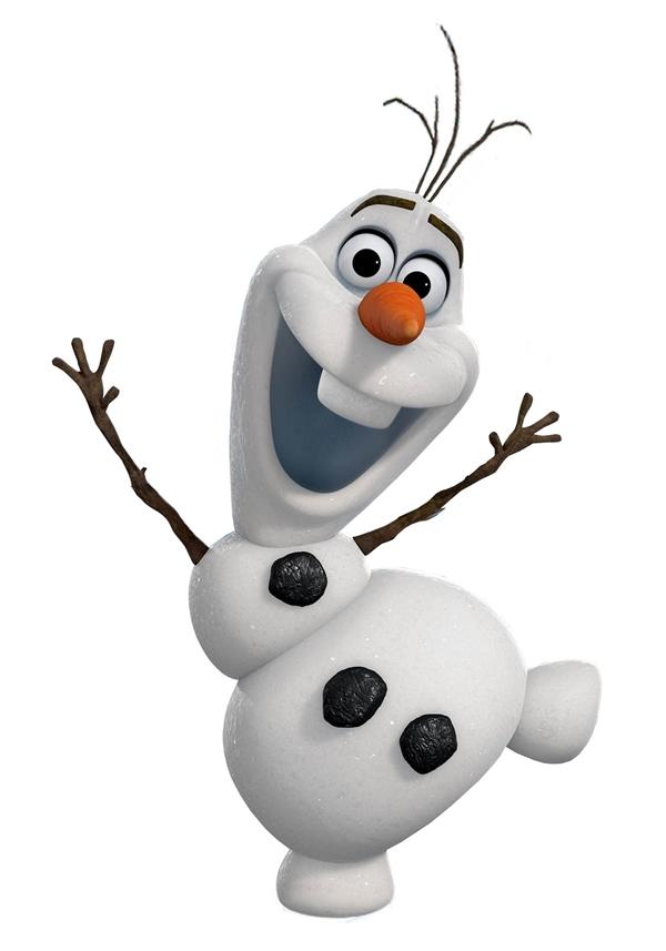 Ngoại hình vui nhộn của Olaf. (Ảnh: Internet)