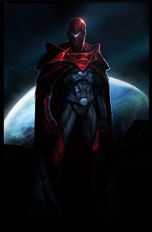 Thế nhưng liệu sự đen tối này có phù hợp với mục đích bảo vệ nhân loại của chàng trai thép hay không? (Ảnh: Steven G)
