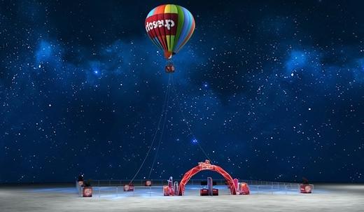 Yêu chạm đỉnh phiêu – hẹn hò trên khinh khí cầu.