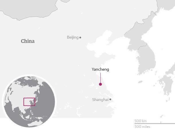 Các quan chức Trung Quốc cảnh báo về khả năng lũ lụt kỉlục trong năm nay do El Nino, hiện tượng thời tiết cực đoan này đang làm ấm nhiệt độ bề mặt biển ở Thái Bình Dương. (Ảnh: Internet)