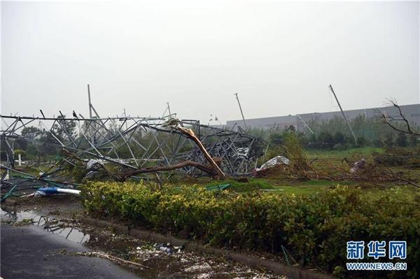 Các nhân chứng cho biết, họ nhìn thấy cây lớn đổ xuống và toàn bộ ngôi làng bị san bằng. Nhiều nạn nhân đã được kéo ra khỏi đống đổ nát và đưa đến bệnh viện. (Ảnh Internet)