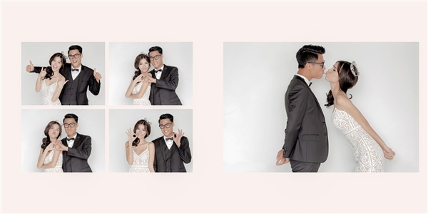 Cả hai ghi lại những khoảnh khắc đáng yêu của mình trong bộ ảnh cưới. - Tin sao Viet - Tin tuc sao Viet - Scandal sao Viet - Tin tuc cua Sao - Tin cua Sao