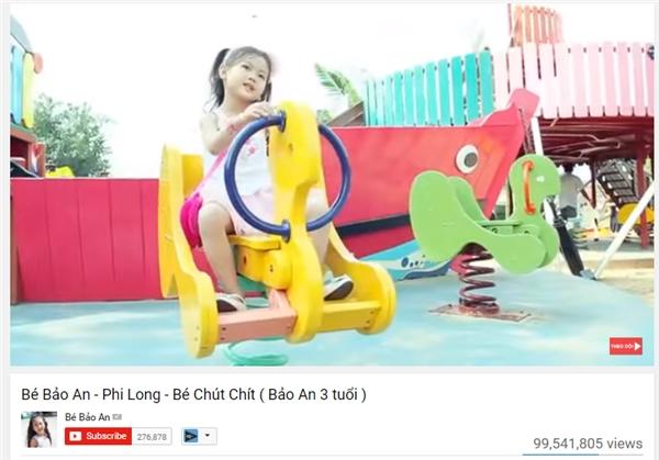 Không dừng lại chỉ với Xúc Xắc Xúc Xẻ, MV Bé Chút Chít – cũng là một sáng tác của Nguyễn Ngọc Thiệncũng tiệm cận với kỉ lục 100 triệu views với hơn 99,5 triệu lượt xem và được dự đoán sẽ đạt 100 triệu view trong thời gian ngắn sắp tới.