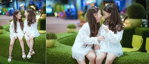 Yến Trang và Bảo Vy ngoài đời là hai chị em họ.