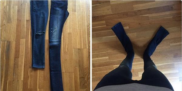 Người bán nói chiếc quần dài 81cm, nhưng có lẽ centimet của họ khác với của người mua chăng?