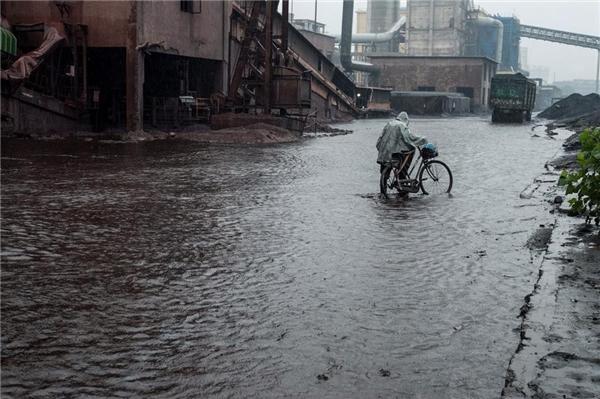 Dù trời mưa hay nắng, khi hàng tớihọ phải ngay lập tức đến làm việc nếu không lần sau sẽ không được thuê nữa.