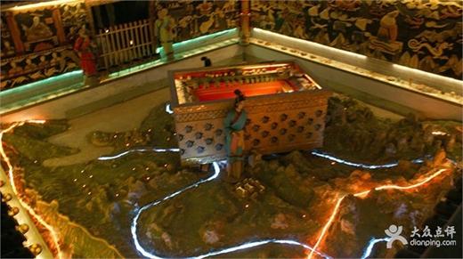 Dòng sông thuỷ ngân rất có thể bao xung quanh ngôi mộ. (Ảnh: Internet)