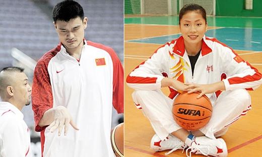 Năm 2007, Yao Minh lên xe hoa cùng nữ đồng nghiệp Ye Li