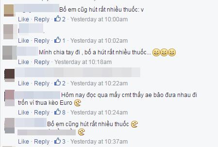 """Những dòng bình luận """"gây hoang mang"""" cho cộng đồng mạng gần đây. (Ảnh: Chụp FB)"""