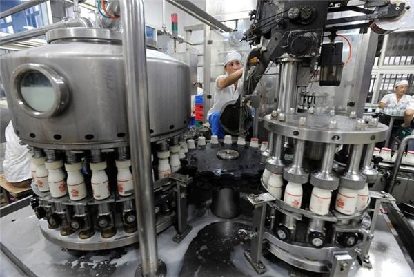 Trong năm 2014, Trung Quốc sản xuất 26,5 triệu tấn sản phẩm từ sữa.