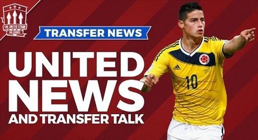 Real Madrid quyết định bán James Rodriguez nếu nhận đủ 50 triệu bảng