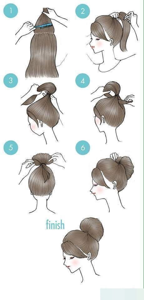 Nếu bạn thích cột tóc thì đây là một gợi ý hay ho nhé.