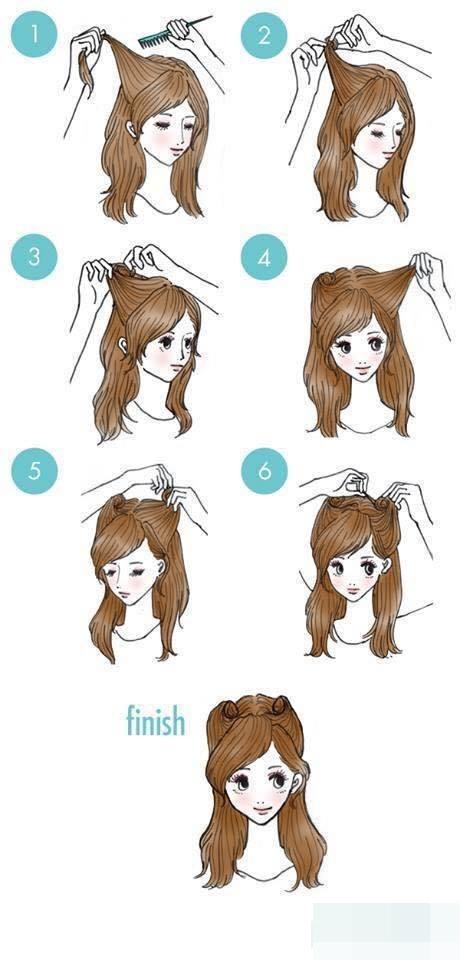 Kiểu tóc này khiến bạn trông có vẻ ngây thơ và hồn nhiên.