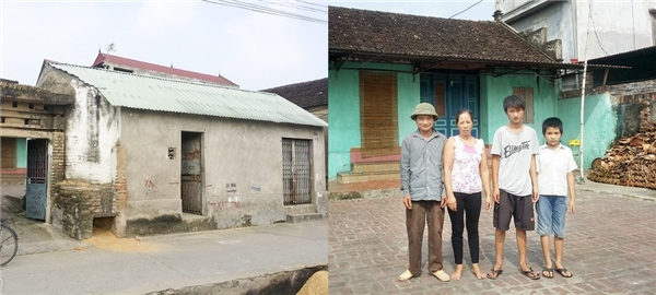 Thành sinh ra trong một gia đình làm nông khó khăn thuộc huyện Yên Phong (phố Chờ), tỉnh Bắc Ninh. Gia đình cô có 5 thành viên: ba mẹ, Thành và 2 em trai.