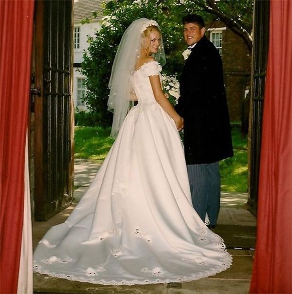 Cuộc hôn nhân hạnh phúccủa Briggs và Paul trước khi anh gặp tai nạn. (Ảnh: Daily Mirror)