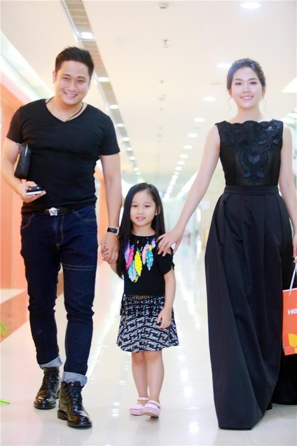 Gia đình diễn viên Minh Tiệp