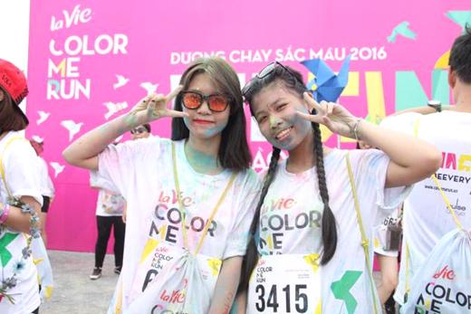 La Vie Color Me Run: Một buổi chiều trăm điều thích thú