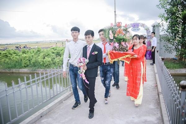 đám cưới ấm cúng