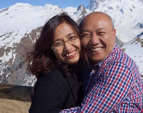 Được tôn vinh là người có đôi tay vàng, chồng của MC Vân Anh là ai?