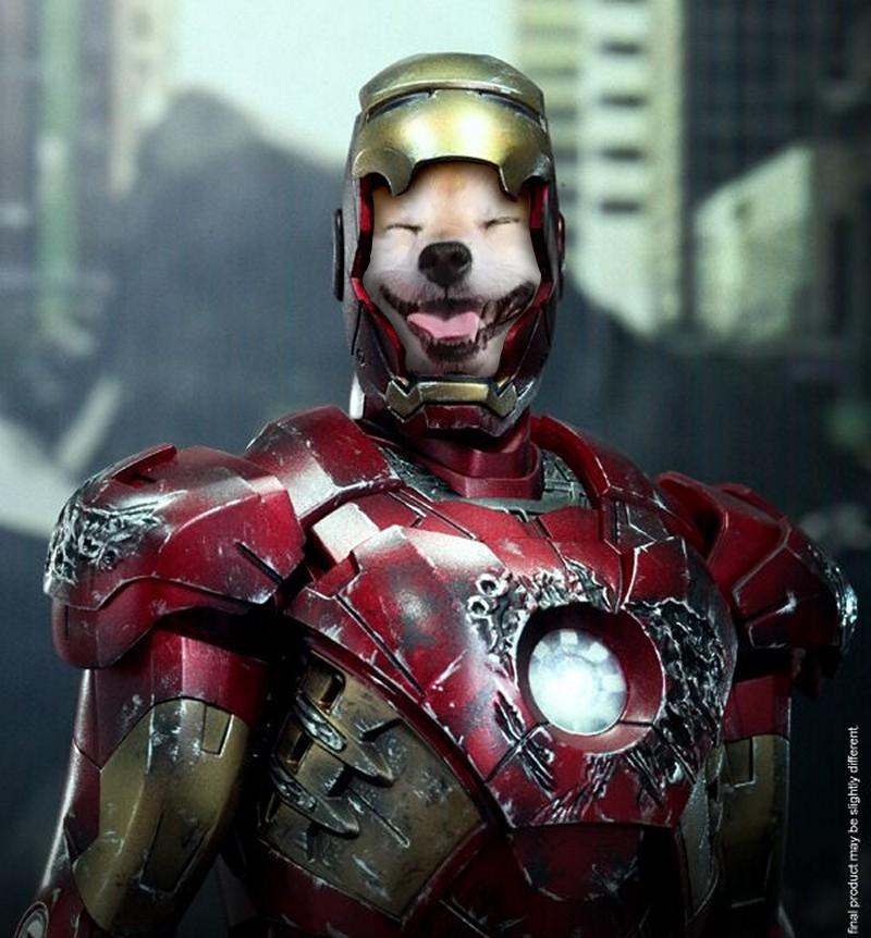 Té ngửa với bộ mặt thật của siêu anh hùng Iron Man.