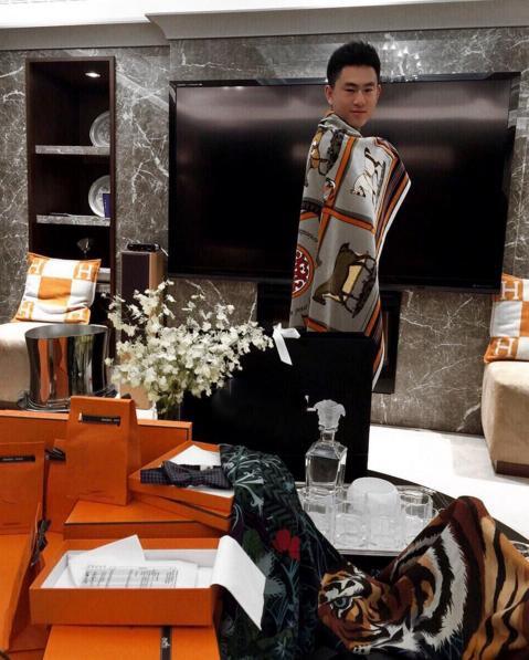 Hình ảnh của thế hệ những người siêu giàu ở Trung Quốc
