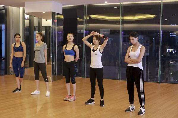 Trong quá trình tập luyện, sự mạnh mẽ, nội lực trong con người An Nguy càng thể hiện rõ rệt hơn.