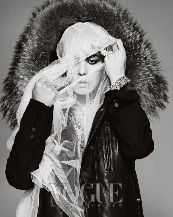 G-Dragon luôn có những bộ ảnh đẳng cấp trên tạp chí Vouge. (Ảnh: Internet)