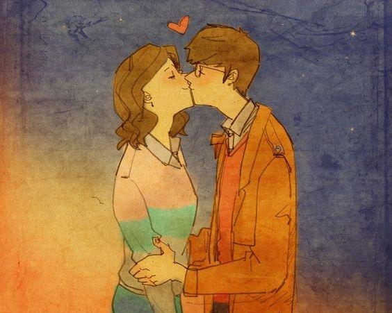 Là anh và em đã yêu nhau.