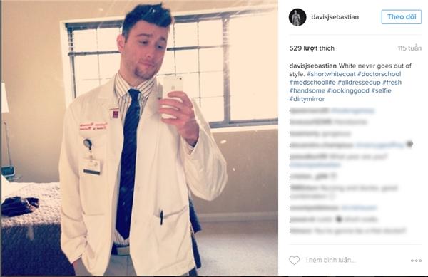 Josh, sinh viên y khoa, có một body cực kì cuốn hút. (Ảnh: Internet)