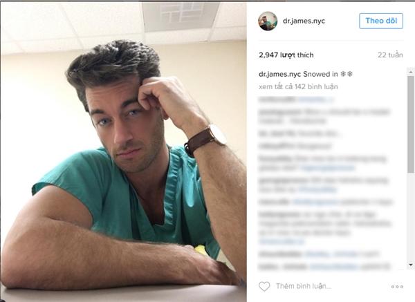 Đây làJustin James, một bác sĩ thể thao ở New York. (Ảnh: Internet)