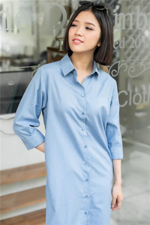 Shirtdess với thiết kế đơn giản, gọn nhẹ vẫn luôn được lòng phái đẹp trong suốt 2 mùa mốt Xuân - Hè gần đây.
