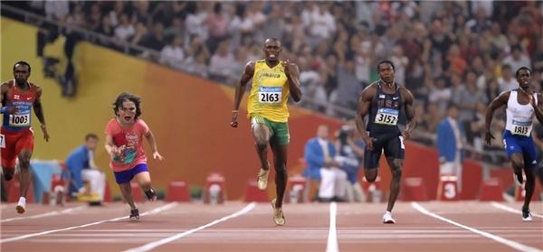Hoặc trên đường chạy đuaOlympicthì sao?(Ảnh: Internet)